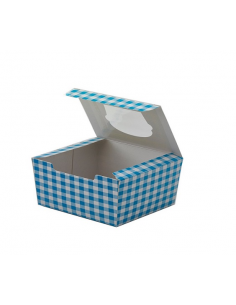 CUP CAKES AZUL 4 UDS P/20