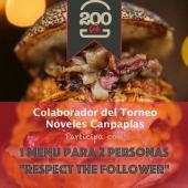 COLABORADOR🏌️♂️  El segundo colaborador del Torneo de Noveles Canpaplas⛳️ que tendrá lugar el próximo 29 de mayo es .... ¡¡¡ @200gramos !!!  Es imposible que al pensar en comernos una hamburguesa en Gran Canaria ,nos nos venga a la cabeza #200Gramos 🍔 Comida casera y marca 100% canaria.   Harán entrega de: ¡Un SÚPER menú para 2 GRATIS!  Apúntate al Torneo porque va a estar cargado de premios.   ¡Gracias por vuestra colaboración!  #Canpaplas #tuempresacanaria #colaboradores #TorneoNovelesCanpaplas #200gramos