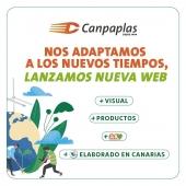 Llegó el día, ¡lanzamos nueva web! 📢 👉🏼 www.canpaplas.com   Hemos mejorado para ofrecerte más información mediante una navegación intuitiva. Además, actualizamos nuestra imagen. ¡Esperamos que te guste! 😀  #Canpaplas #tuempresacanaria #nuevaweb #lanzamiento