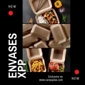 🔴 ENVASES XPP 🔴  ¡Nueva línea de envases para llevar!  Llega el XPP, la alternativa totalmente reciclable a los envases de EPS.  Aptos para microondas, resistentes a grasas, ligeros y prácticos.  Descúbrelos en: 👉🏼www.canpaplas.com   #Canpaplas #envases #Xpp #envasesXPP #reciclable #novedad #nuevalínea #exclusivo #portamenú #portahamburguesa