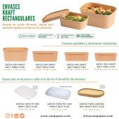 ENVASES KRAFT RECTANGULARES 🟩 ¡Nueva línea de envases Kraft!   La solución perfecta para envasar comida para llevar. Son envases de cartón resistentes y rígidos, aptos para microondas. Disponibles en 4 tamaños.  Se combinan con la tapa que más se adapte a nuestra necesidad, hay 3 disponibles.   Puedes acceder a toda la info entrando en: https://www.canpaplas.com/es/7309-envases-rectangulares  #Canpaplas #empresacanaria #novedad #nuevalínea #envases #envasesdecartón #envaseskraftrectangulares #EnvaseKraft #envaserectangular #cartón #materialreciclable  #Canarias #IslasCanarias